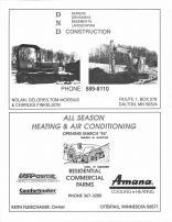 DND Construction, All Season Heating & Air Conditioning, Otter Tail County 1995