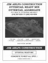 Jim Ahlfs Construction , Otter Tail County 1995