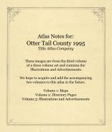 Atlas Notes, Otter Tail County 1995