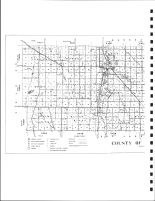 Pennington County - West Highway Map, Pennington County 1980