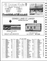 Rocksbury Township Owners Directory, Ad - All Seasons Realty, Cenex Land O' Lakes Propane Gas Plant, Pennington County 1991