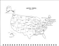 United States Map, Pennington County 1991