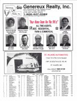 Rocksbury Township Owners Directory, Ad - Genereaux Realty, St. Hilaire Automotive, Pennington County 1998