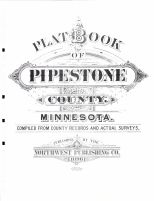 Title Page, Pipestone County 1898