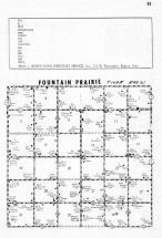 Fountain Prairie Township, Pipestone County 1958