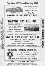 Front Cover, Pipestone County 1958