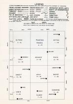Index Map, Pipestone County 1961