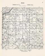 Rock Township, Pipestone County 1961