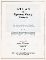 Title Page, Pipestone County 1961