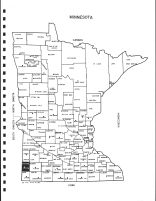 Minnesota State Map, Pipestone County 1999