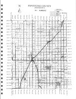 Pipestone County 911 Numbers Map, Pipestone County 1999