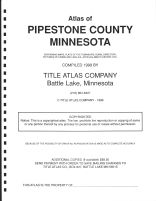 Title Page, Pipestone County 1999