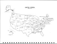 United States Map, Pipestone County 1999