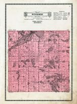 Woodside Township, Maple Lake, Polk County 1915