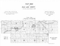 Red Lake County Map, Red Lake County 1951