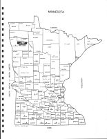 Minnesota State Map, Red Lake County 1979