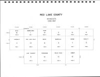 Red Lake County Code Map, Red Lake County 1979