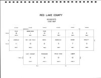 Red Lake County Code Map, Red Lake County 1998