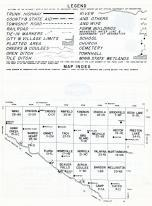Index Map, Renville County 1962