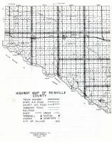 Renville County Highway Map 1, Renville County 1962