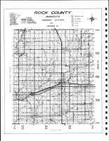 Rock County Highway Map, Rock County 1980