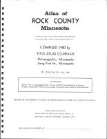 Title Page, Rock County 1980