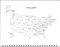 United States Map, Rock County 1980