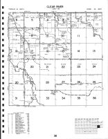 Clear River Township, Roseau County 1991