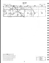 Dieter Township - North, Roseau County 1991