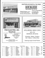 Leona Township Owners Directory, Ad - Knurson Accounts and Tax Prep., Fish Electric, Wilmer's Red Owl, Roseau County 1991