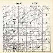 Township 60 North - Range 17 West, Big Rice Lake, Rice River, St. Louis County 1914