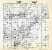 Township 64 North - Range 18 West, Boss Lake, Elbow Lake, St. Louis County 1914