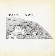 Township 68 North - Range 17 West, Namekan Lake, St. Louis County 1914