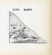 Township 71 North - Range 20 West, Rainy Lake, St. Louis County 1914