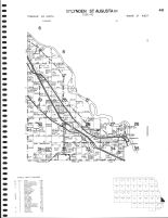 Lynden Township - North, St. Augusta Township - East, St. Cloud City, Fuller Lake, Bunt, Stearns County 1982