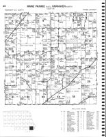 Maine Prairie Township - East, Fairhaven Township - North, Beaver Lake, Laura, Stearns County 1982