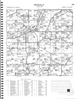 Rockville Township, Grand Lake, Rausch, Mud, Stearns County 1982