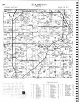 St. Augusta Township - West, Beaver Lake, Stearns County 1982