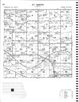 St. Martin Township, Stearns County 1982