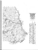 Stearns County Highway Map - East, Stearns County 1982