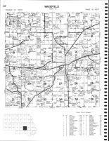 Wakefield Township, Cold Spring, Knaus Lake, Cedar Island, Stearns County 1982