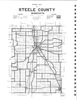 Steele County Highway Map, Steele County 1979