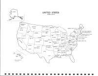 United States Map, Steele County 1979