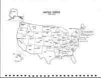 United States Map, Stevens County 1974