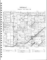 Birchdale Township 2, Birch Lake City, Hennessy, Bunner, Zager, Todd County 1947
