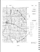Todd County Map 2, Todd County 1947