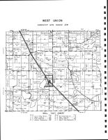 West Union Township, Lake Guernsey, Ashley Creek, Todd County 1947