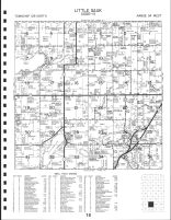 Code 18 - Little Sauk Township, Jurgens Lake, Cedar Lake, Todd County 1993