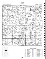 Code 27 - Ward Township, Turtle Lake, Horseshoe Lake, Todd County 1993