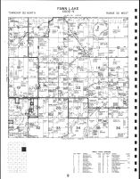 Code 9 - Fawn Lake Township, Mud Lake, Fawn Lake, Pine Island, Long, Todd County 1993